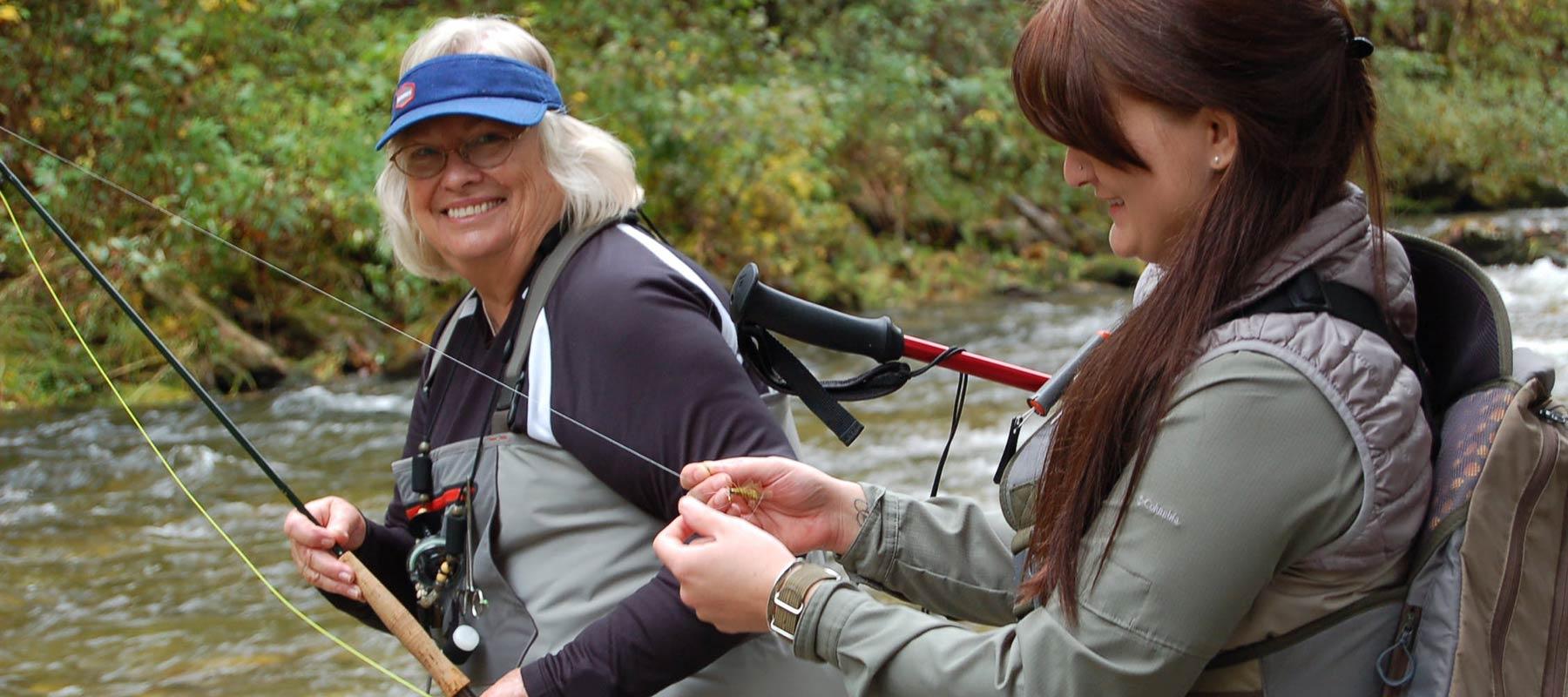 women-fishing